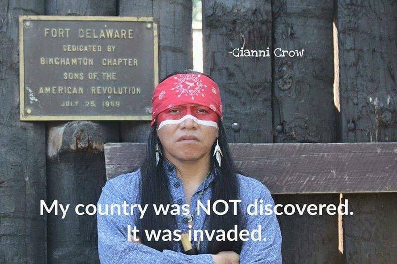 Columbus Day or Indigenous People's Day?