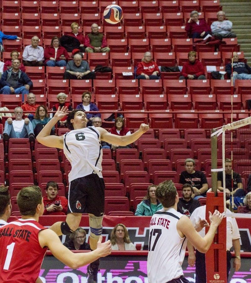 Men's volleyball Surane strong through first 10 matches