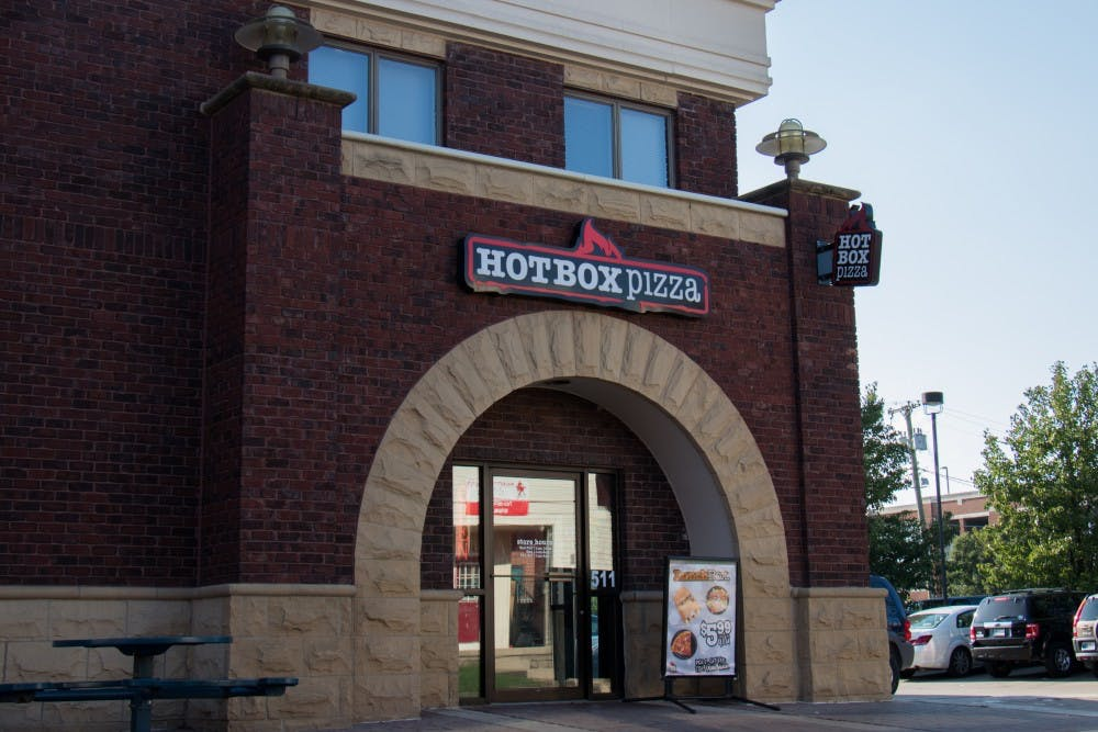 <p>Hot Box Pizza is among three other businesses in The Village now accepting Cardinal Cash. <strong>Eric Pritchett, DN</strong></p>