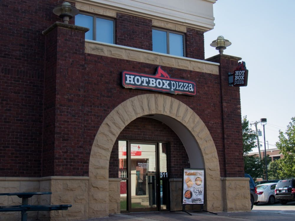 Hot Box Pizza is among three other businesses in The Village now accepting Cardinal Cash. Eric Pritchett, DN