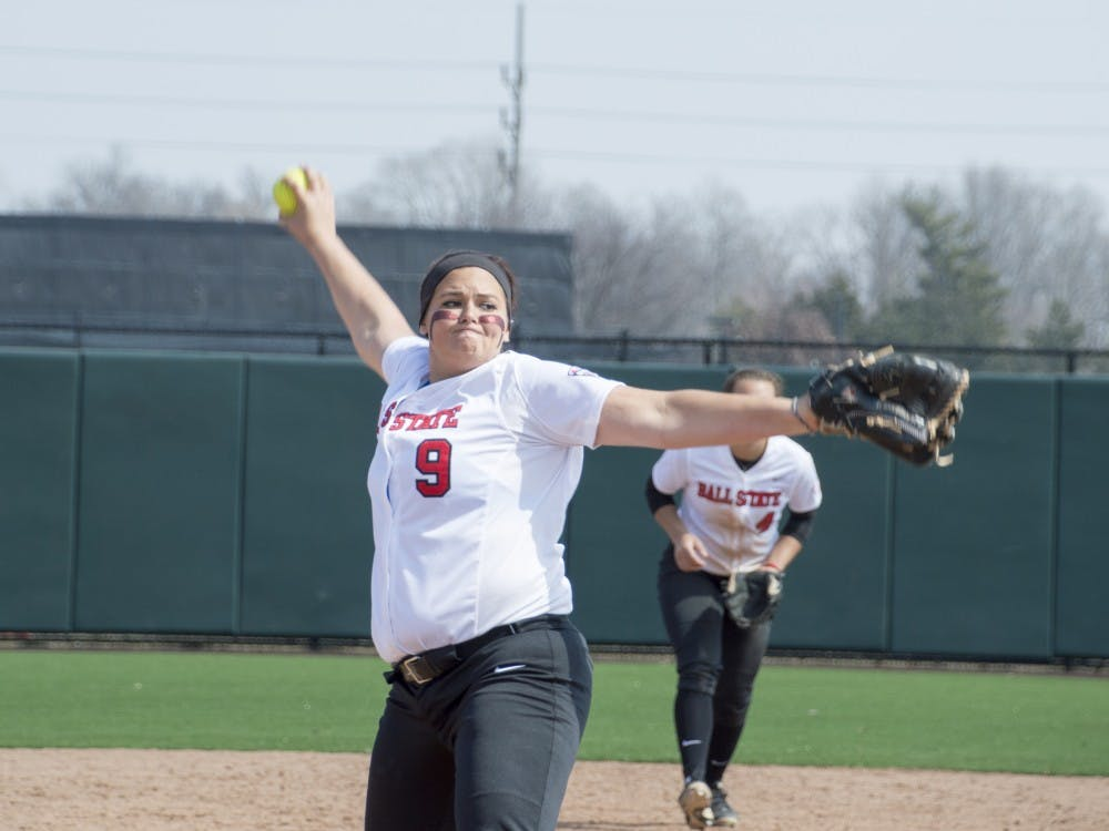 The Ball State softball team fell to Western Kentucky in both games of the double header on March 21.
