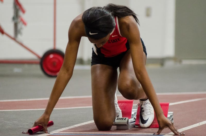 Ball State track travels to Ohio for Indoor MAC Championship