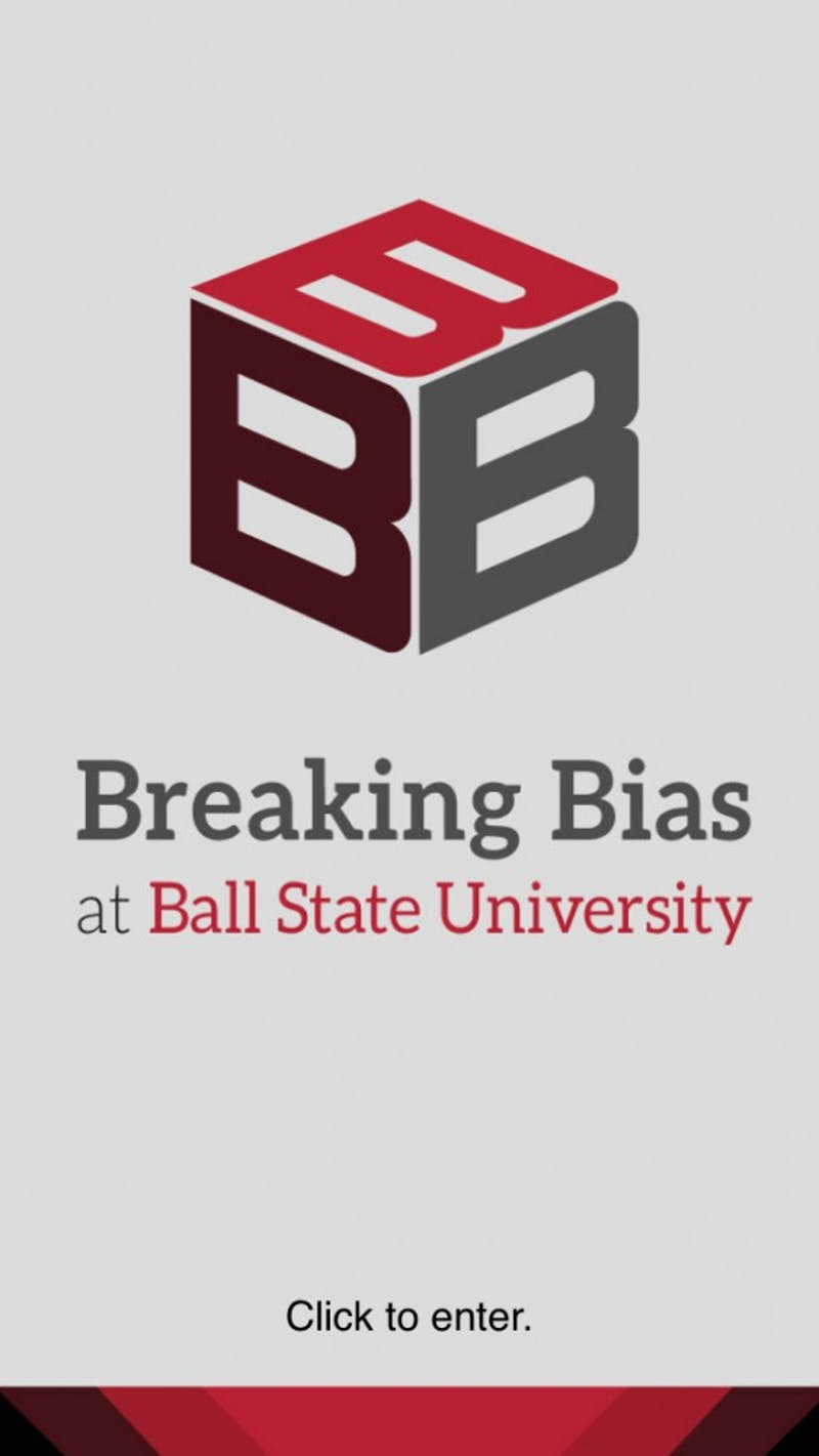 The University Information Technology department developed the B-3 app, Breaking Bias at Ball State University. The app's key features includes definitions of bias, hate crimes and discrimination, and aims to provide students with resources and contact information they can refer to when experiencing bias. Grace Ramey // DN