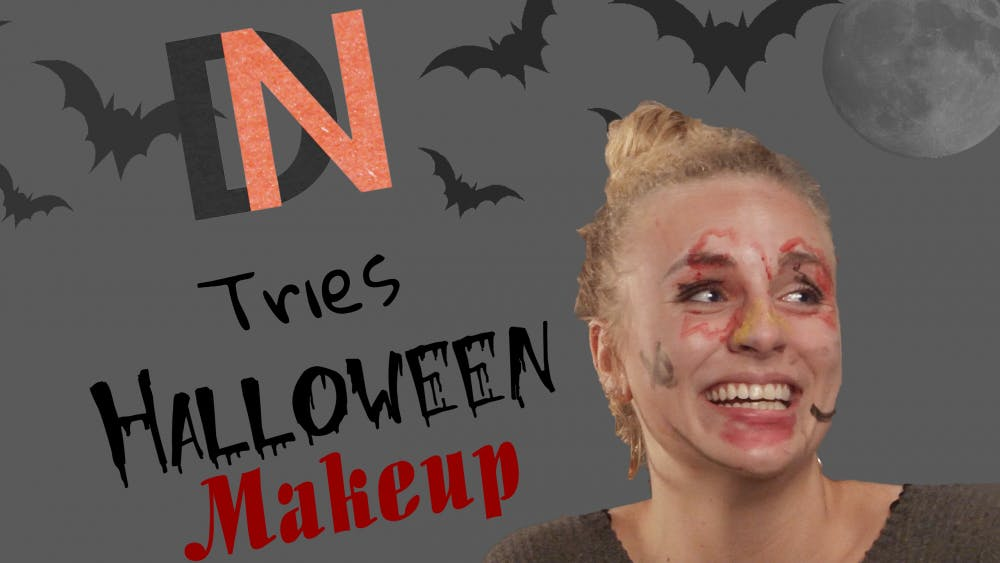 DN Tries: Halloween makeup blindfolded