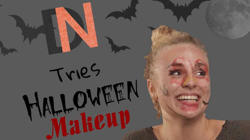 DN Tries Halloween Makeup Thumbnail