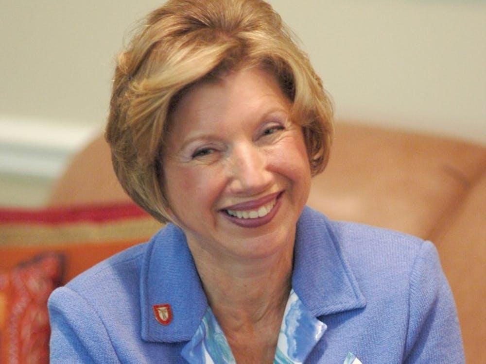 Ball State President Jo Ann Gora, one of the university