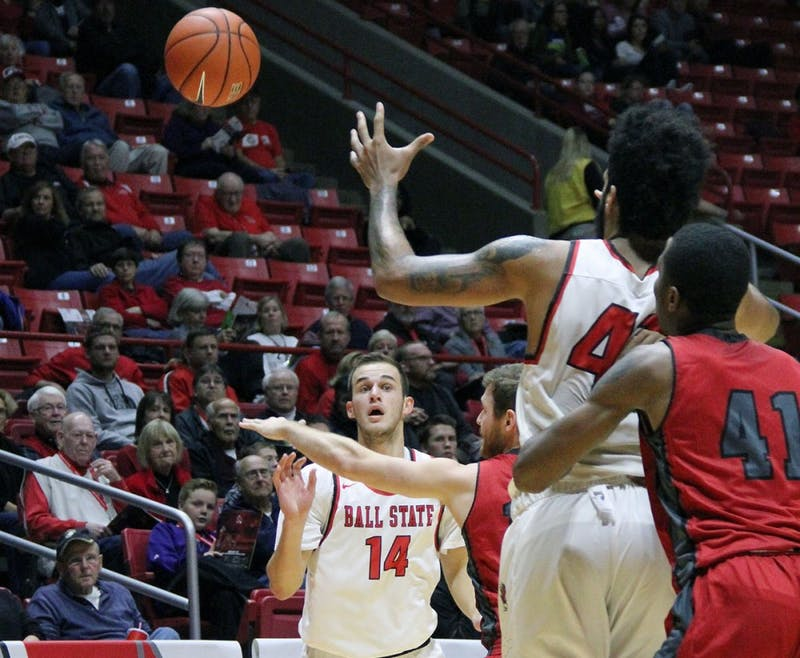 Ball State men's basketball begins travel-heavy non-conference stretch