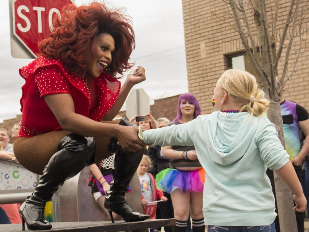 More than 2,000 people attended the Columbus Pride Festival April 14 in Columbus, Indiana. Erin Bailey, a senior at Columbus Signature Academy-New Tech High School, organized the event to show that the hometown of Vice President Mike Pence is a welcoming place for the LGBTQ community.