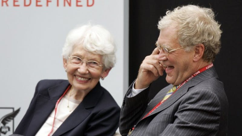 "Dorthy Mengering, the mother of Ball State alum David Letterman, has passed away at age 95, according to Hollywood Reporter. Mengering was a ""correspondent"" for Letterman's show at three Winter Olympics — in 1994, 1998 and 2002. Variety // Photo Courtesy"