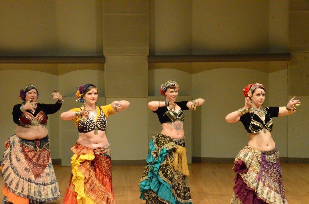 Ball State Belly Dancer Club hosts annual Women's Week Hafla