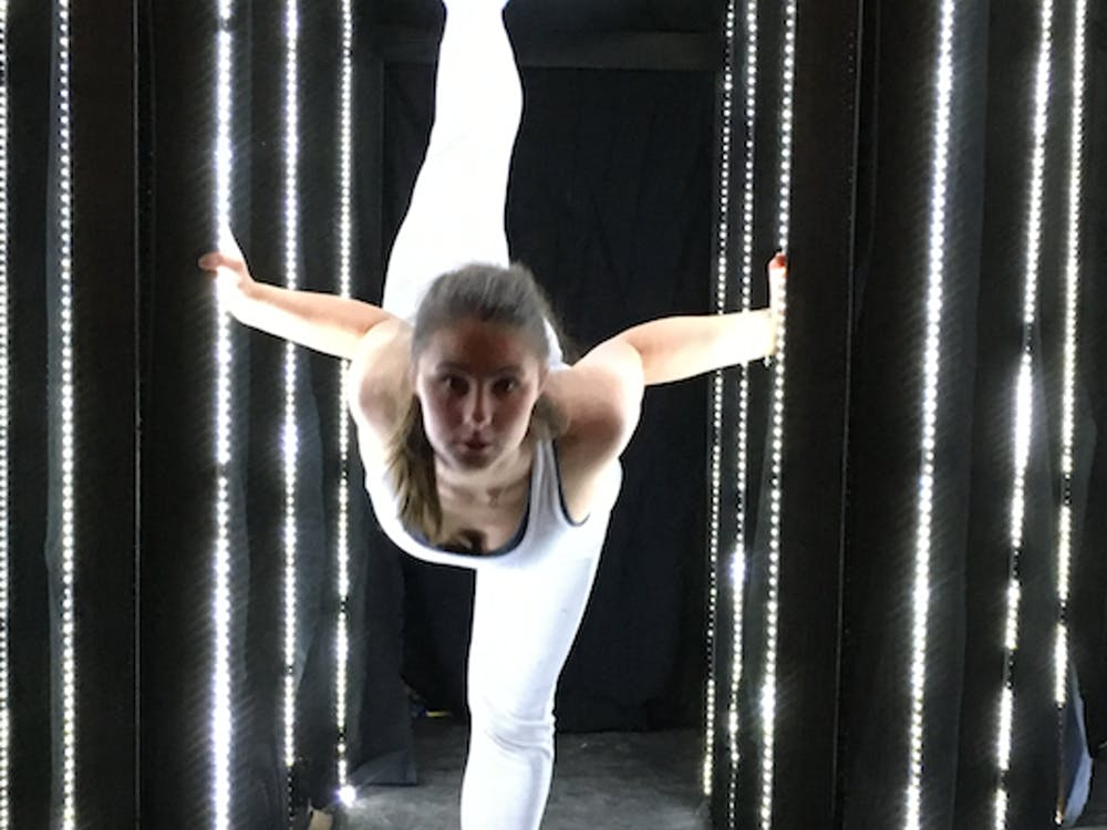 The Department of Theatre and dance will host its semi-annual student performance showcase, Works in Motion, in the Ball Gymnasium at 7:30 p.m. on Oct. 28. The students performing will get the chance to experiment with choreography before their capstone project. Michelle Kaufman // DN File