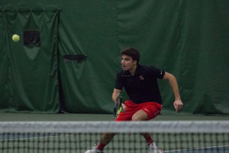 Ball State Men's Tennis swept in MAC semifinals