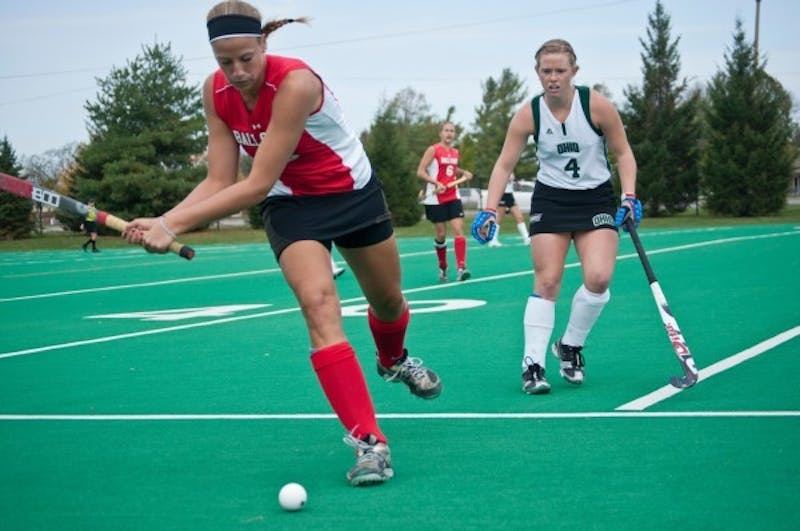 FIELD HOCKEY: Cardinals come up short in overtime