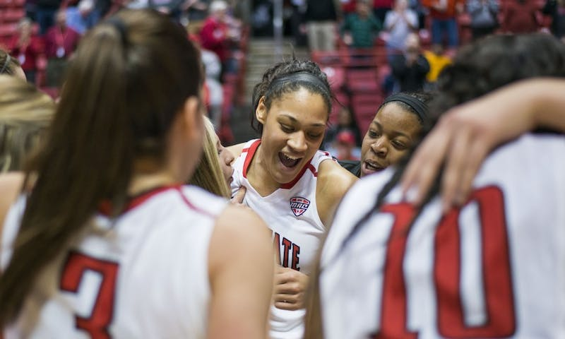Nathalie Fontaine breaks Ball State women's basketball all-time scoring record