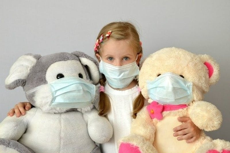 Extra stress with children at home during this epidemic