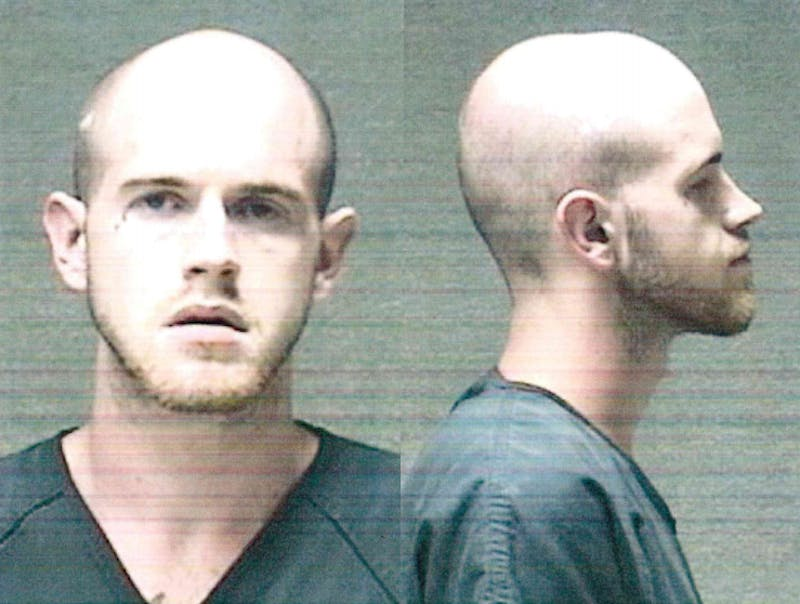 Muncie Police preliminarily charged Brady Allen Turner, 25, with murder. Turner was the cause of an emergency alert sent to Ball State students Tuesday. Anderson Police later arrested Turner Wednesday after they say he tried to break into a home. Delaware County Jail, Photo Provided
