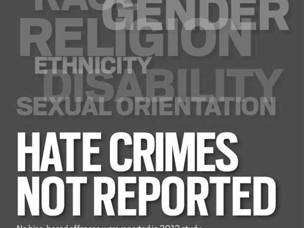 No bias-based offenses were reported in 2012 study, however, officials say number may not be whole story