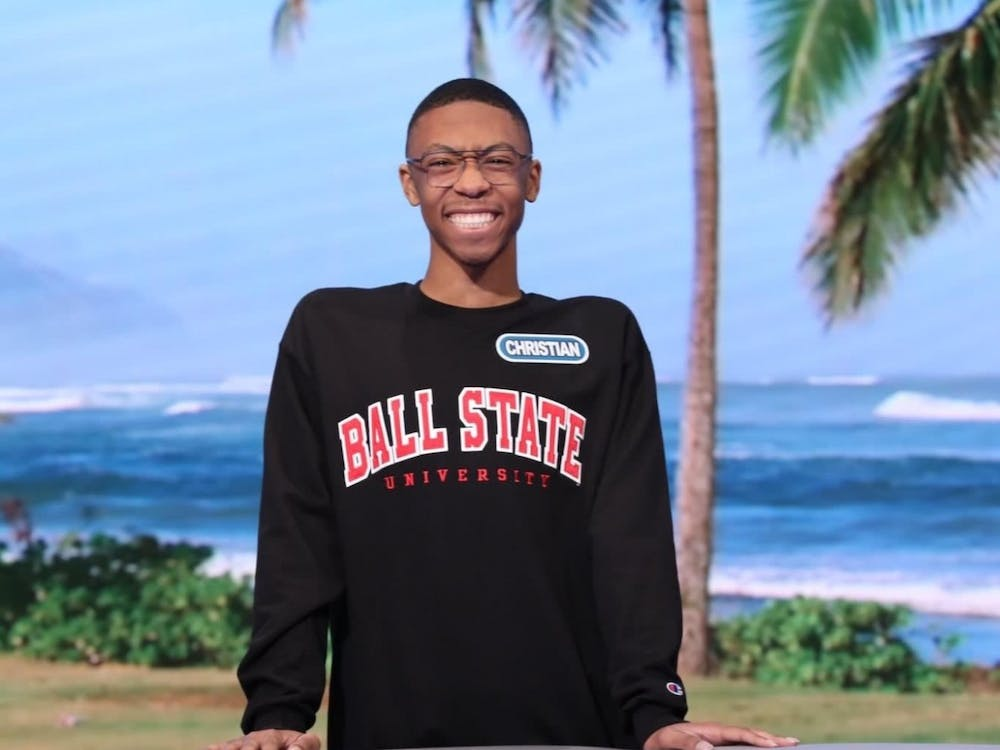 "Freshman Christian Dixie became the first Ball State student to play on ""Wheel of Fortune's"" ""College Week"" on Feb. 6. His episode aired March 17 where he won more than $65,000 in cash and prizes. Sony Pictures, Photo Provided"