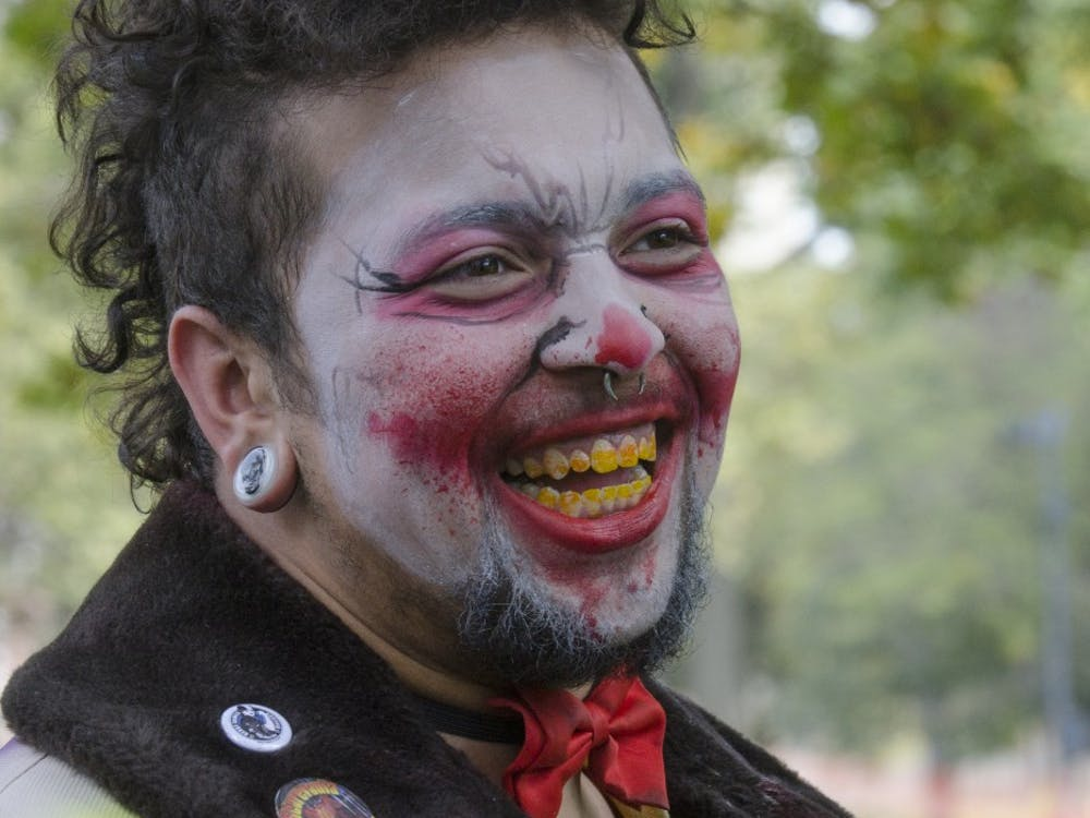 The 3rd Annual Zombie Walk started in the Quad on Sept. 27 and spread through the Village.