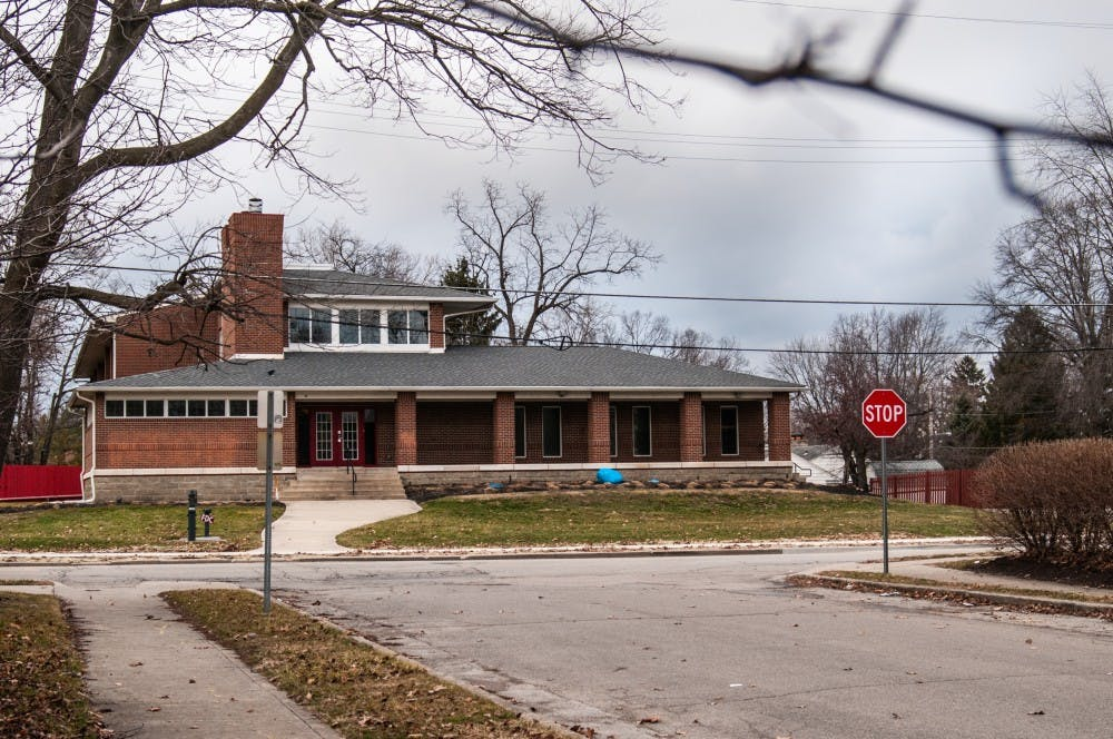 <p>Alpha Tau Omega&#x27;s house is seen on Riverside Avenue Jan. 8, 2018 before their letters are attached. After having to quarantine in the fall 2020 semester, Alpha Tau Omega members have implemented bi-weekly cleaning procedures for the house and have shifted more meetings online during the coronavirus pandemic. <strong>Madeline Grosh, DN File</strong></p>