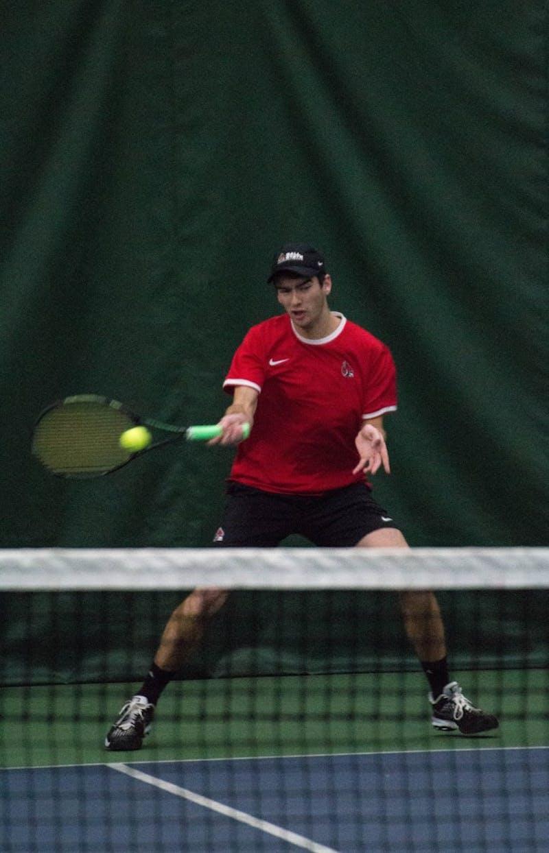 PREVIEW: Ball State men's tennis vs. Buffalo, Binghamton