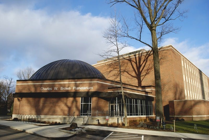 The Charles W. Brown Planetarium is a 52-foot dome located on Riverside Avenue. Every week, there are shows about the night sky, solar system and more that run for about 45 to 55 minutes and are for ages 10 and older. Samantha Brammer, DN File