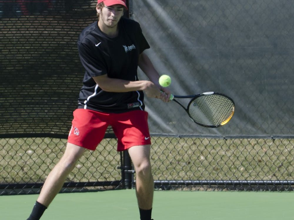 The Ball State men's tennis took on Toledo on March 30 at the Cardinal Creek Tennis Courts. Ball State is now 8-10.