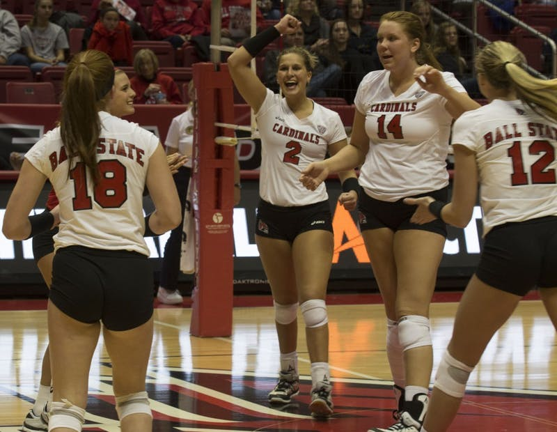 Bench play, practice encouraging for women's volleyball tournament