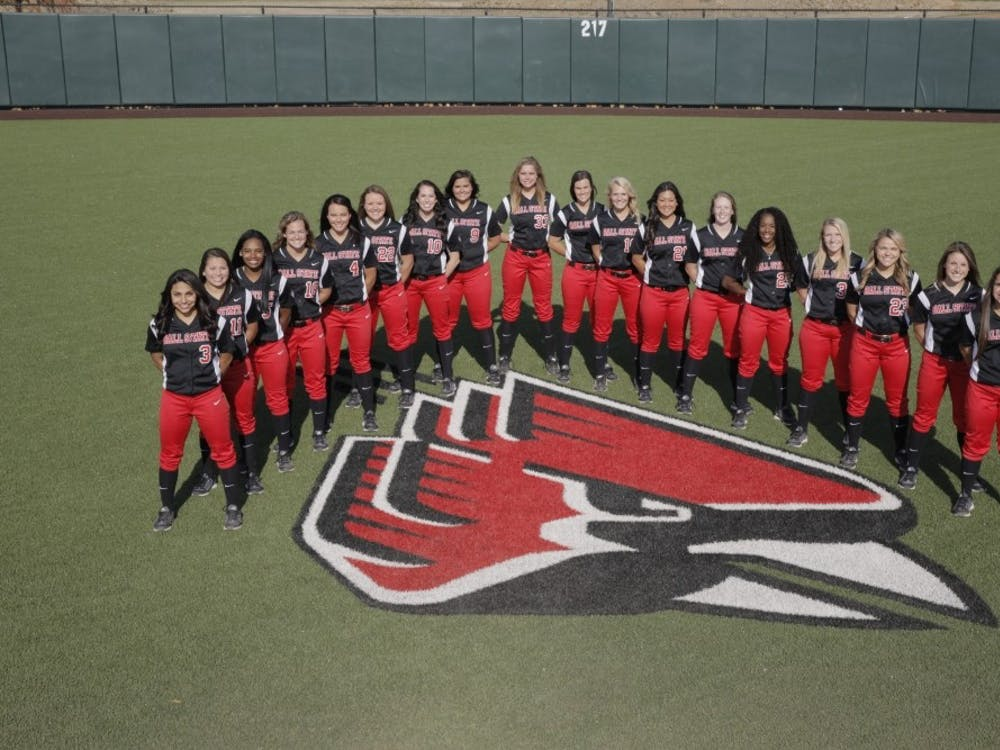 Ball State women's softball travels to Eastern Michigan this weekend for a three game series. PHOTO PROVIDED BY BALL STATE ATHLETICS