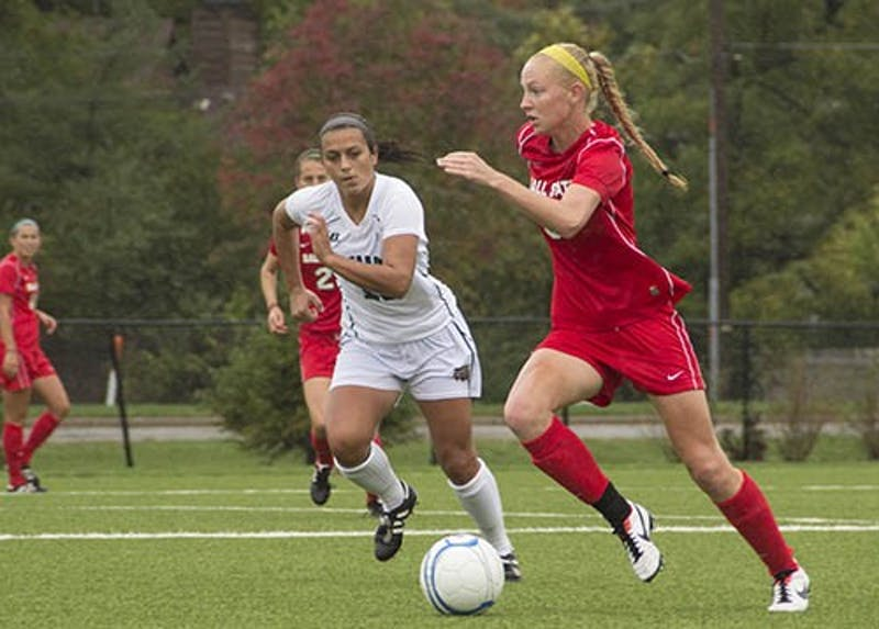 SOCCER: Cardinals score two quick goals to beat Ohio