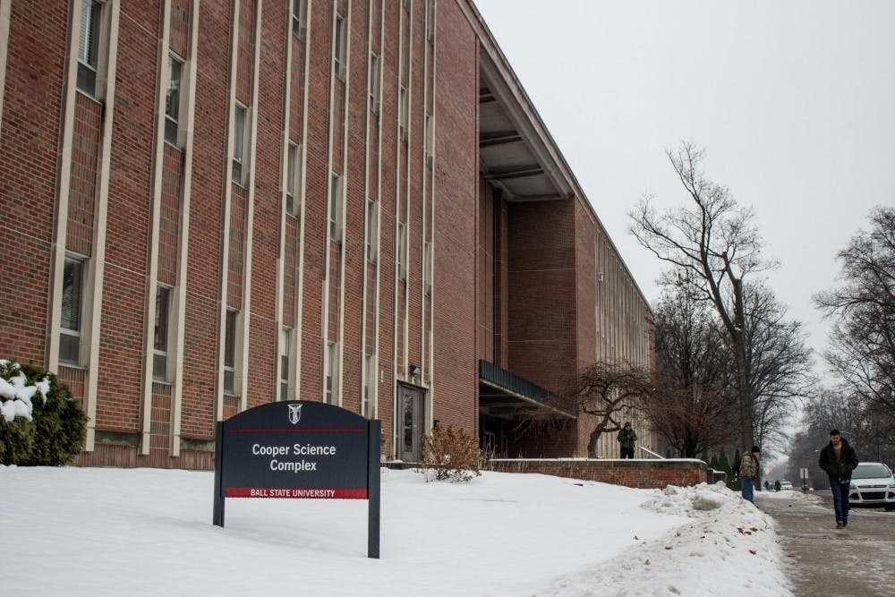 Ball State requests $59.9 million for final Cooper Science renovation phase