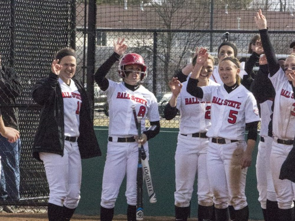The Ball State softball team faced IPFW at home on March 18 at the Softball Field at the First Merchants Ballpark Complex. Ball State beat the Mastadons 8-2.