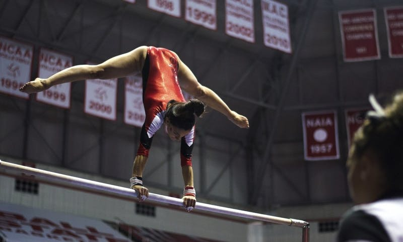 Gymnastics 2016-2017 schedule released