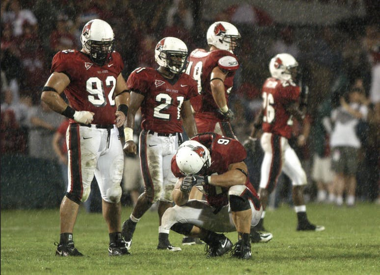 Take a look back at the rivalry between Ball State Football
