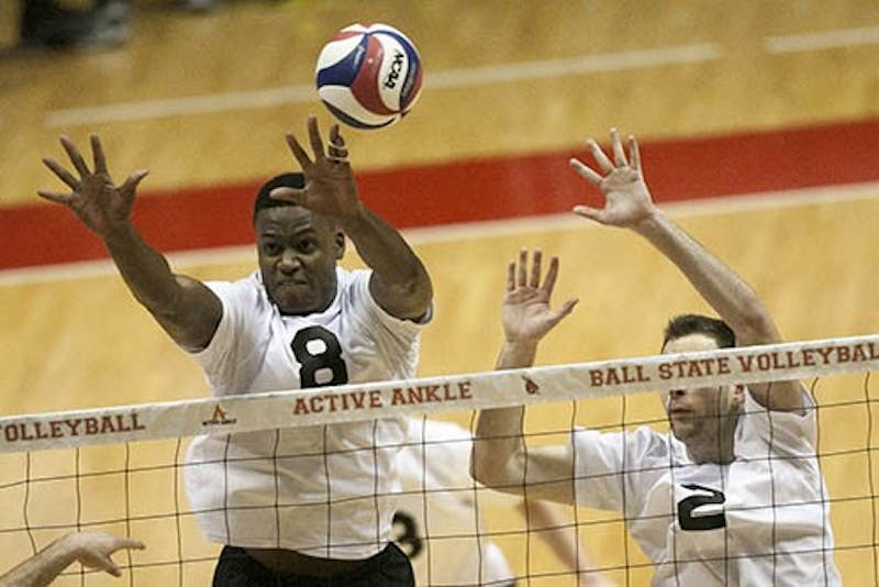 MEN'S VOLLEYBALL: Ball State falls in MIVA semifinals