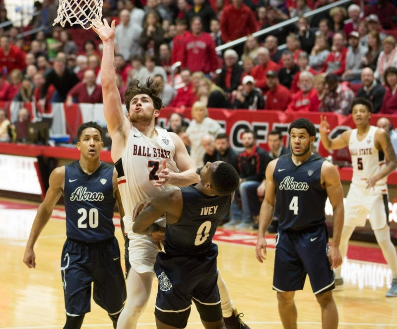 Offenses explode as Ball State tops Akron in double OT
