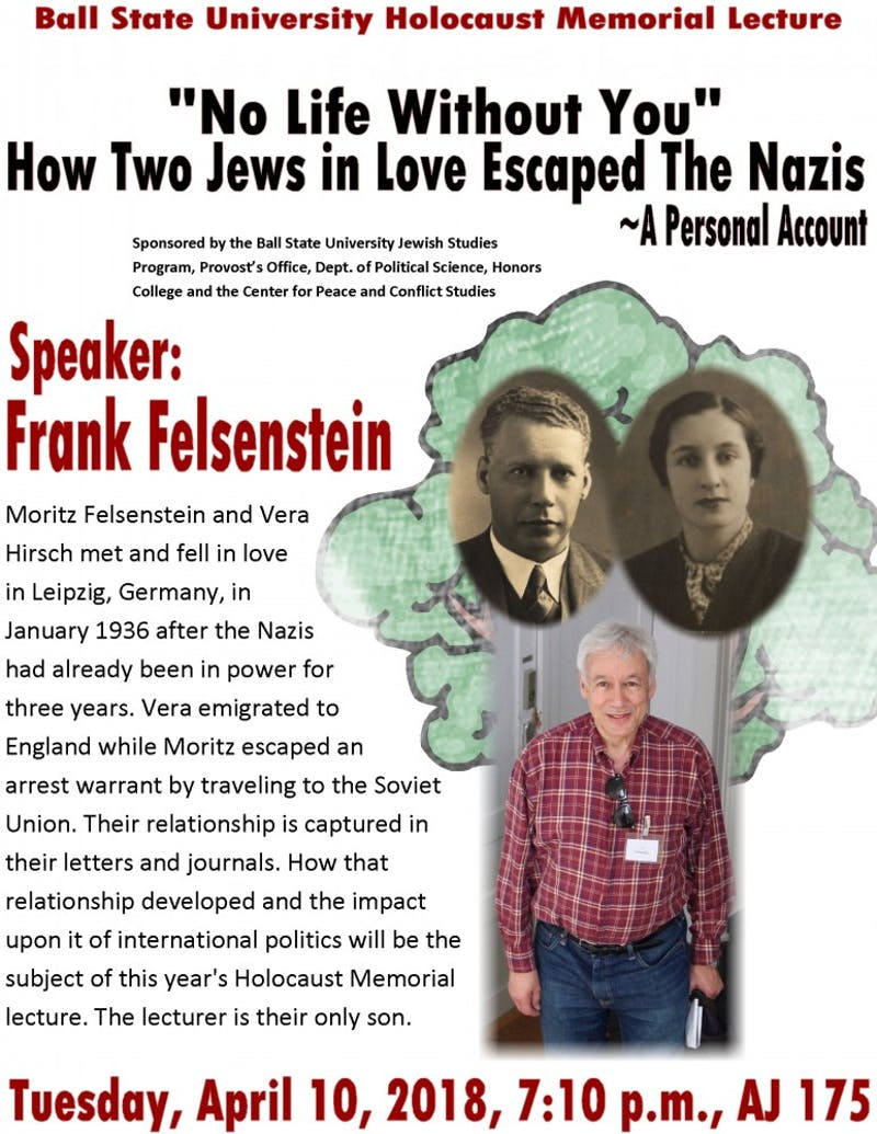 Ball State Holocaust Memorial Lecture rescheduled