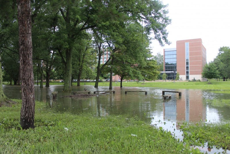 University aims to reduce floodwater problems