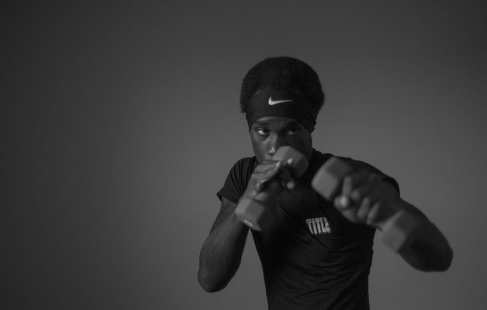 Amateur Muncie boxer uses rough childhood as motivation in ring