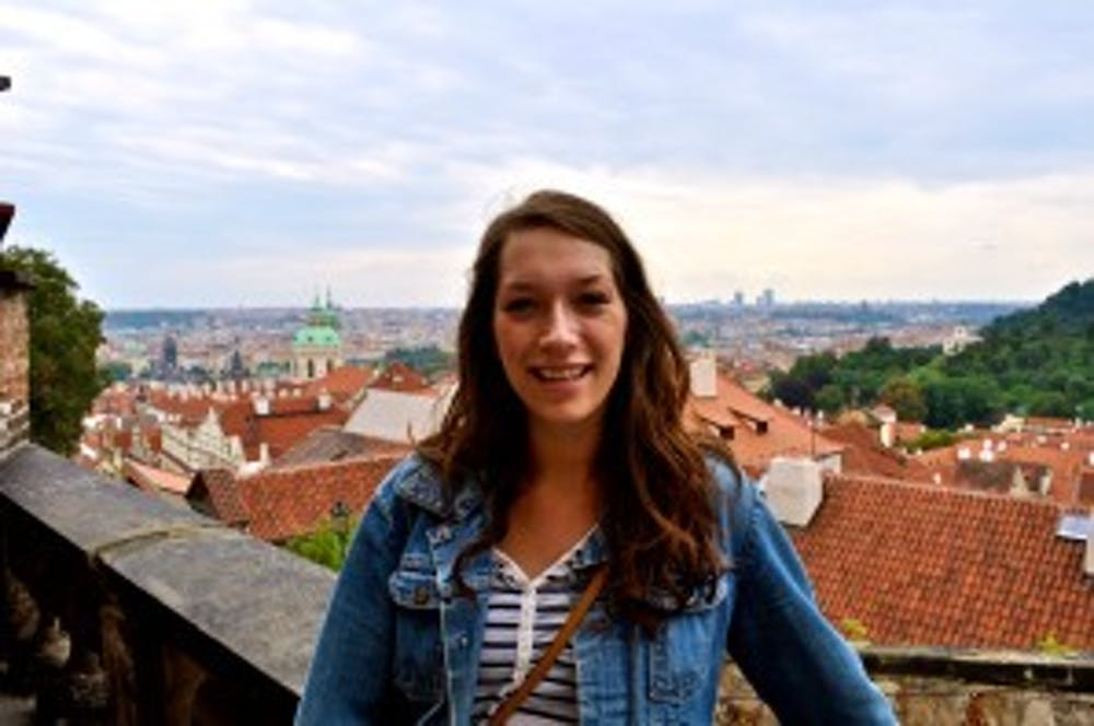 """<p>Ball State alumna Lucia Borgmann, a travel agent for Muncie travel agency&nbsp;Great Destinations, has started a travel blog called """"Wanderlust Lucia."""" The blog will follow Borgmann on her adventures around the world. &nbsp;<i style=""""background-color: initial;"""">Lucia Borgmann // Photo Provided</i></p>"""