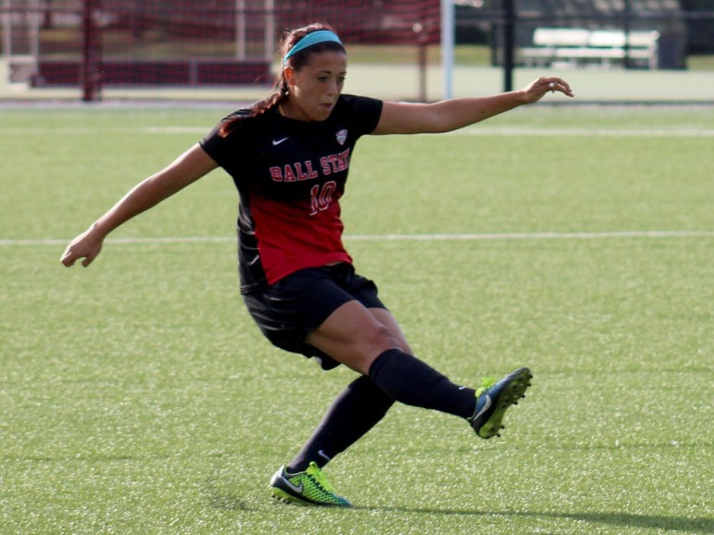 The Ball State soccer team faced Eastern Michigan on Sept. 25 at the Briner Sports Complex. Ball State won 2-1in the Mid-American Conference opener.