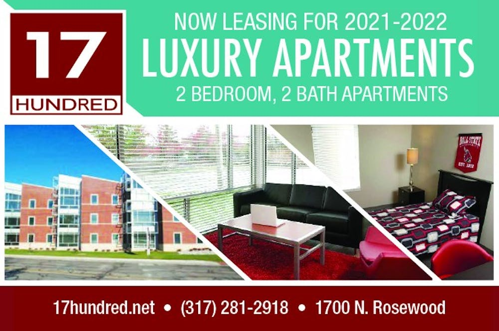 Upgrade to the 17 Hundred Apartments!