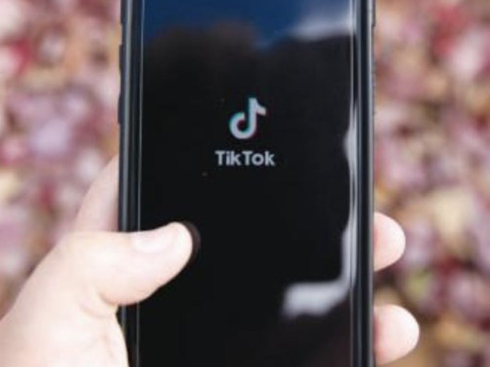 A phone opens TikTok Nov. 10, 2020. TikTok has been downloaded more than 2 billion times in the Apple App Store and Google Play Store. Jacob Musselman, DN Illustration