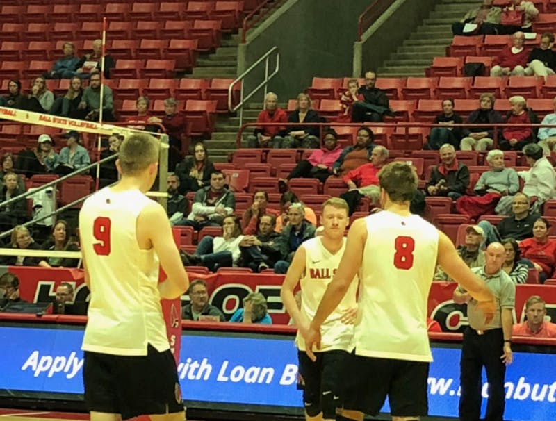 Ball State Men's Volleyball falls to UC-Irvine in battle of Top-25 teams