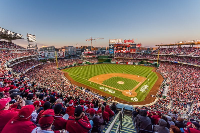 Nationals Park played host to the longest game in Major League Baseball history Oct. 4 2014. In Game 2 of the National League Division Series, the San Francisco Giants defeated the Washington Nationals 2-1. The Atlanta Braves, Boston Red Sox, Houston Astros and Los Angeles Dodgers make up the remaining four teams in the 2021 MLB playoffs. Geoff Livingston