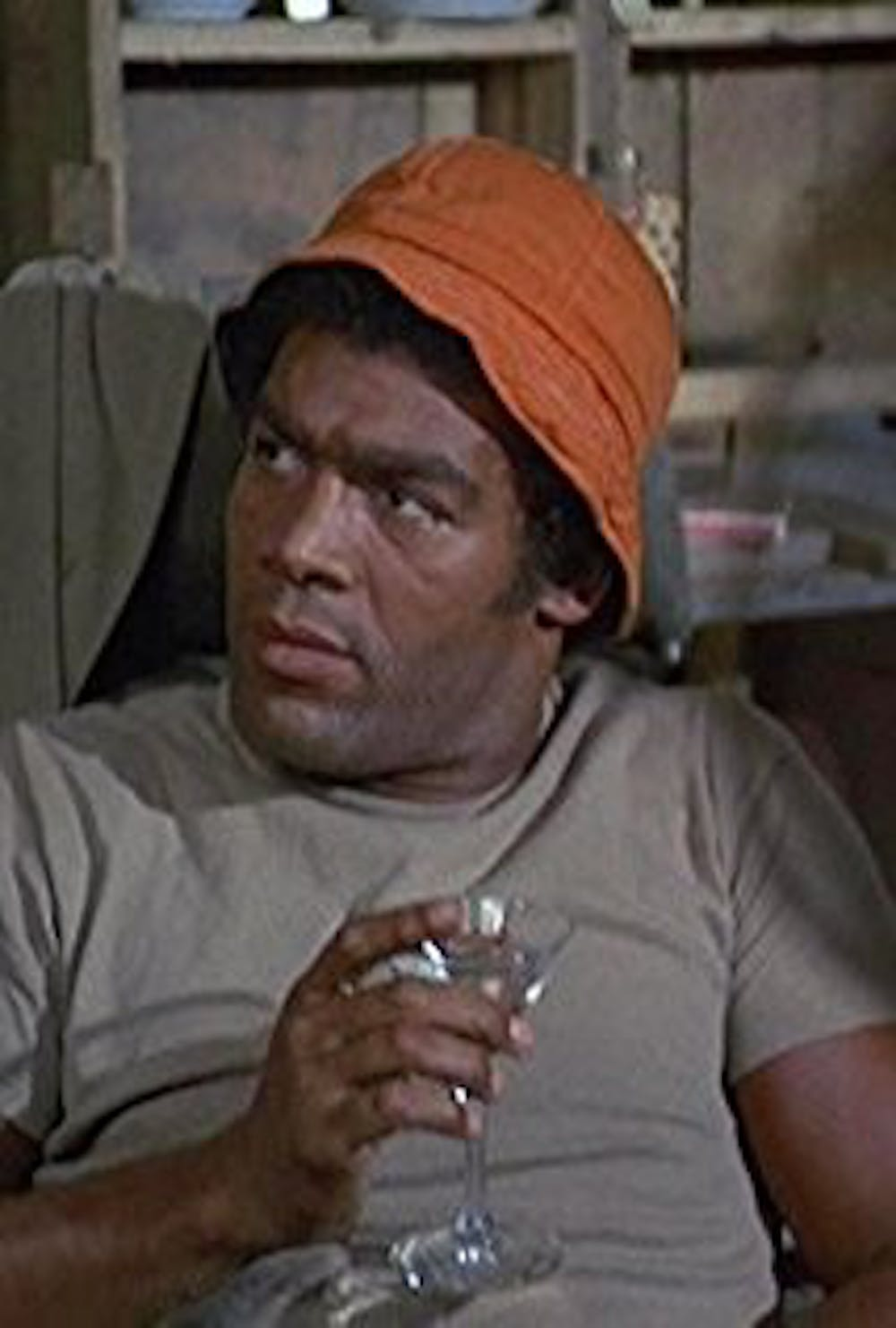 "<p>Timothy Brown appears in an episode of ""M*A*S*H"" in 1972. Brown had a professional football, acting and singing career. <strong>Photo Courtesy</strong></p>"