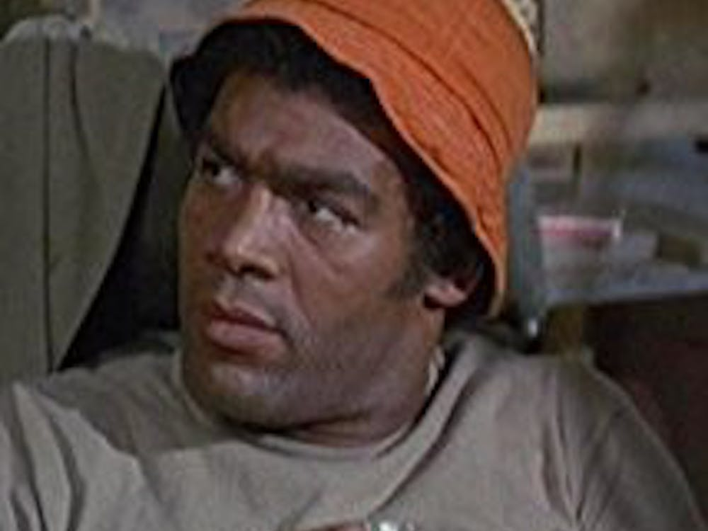 "Timothy Brown appears in an episode of ""M*A*S*H"" in 1972. Brown had a professional football, acting and singing career. Photo Courtesy"