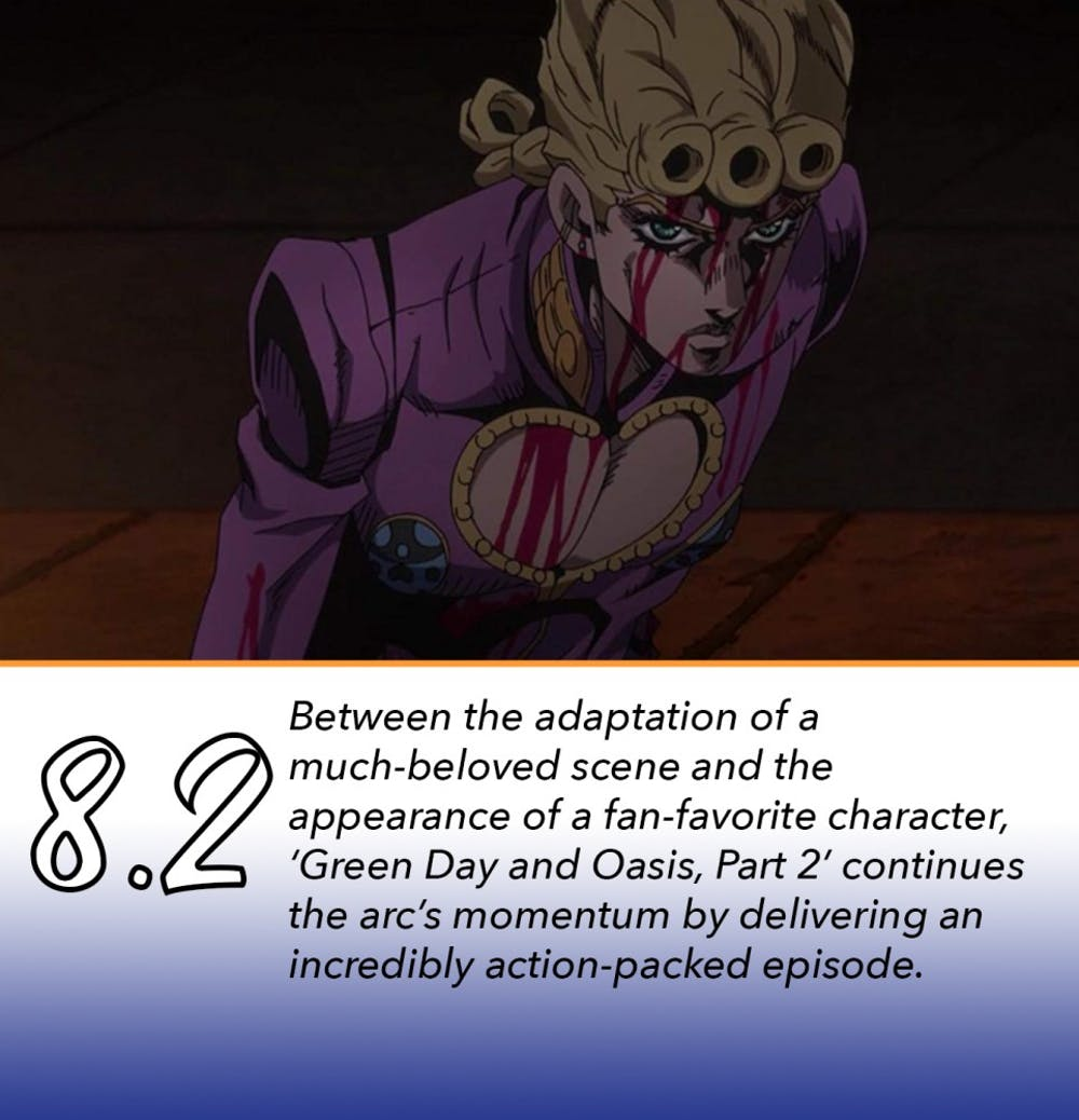 "Review: 'Jojo's Bizarre Adventure: Vento Aureo' Episode 31: ""Green"