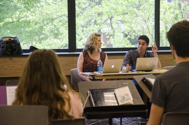 'Mad World' creators workshop musical with Ball State students, faculty