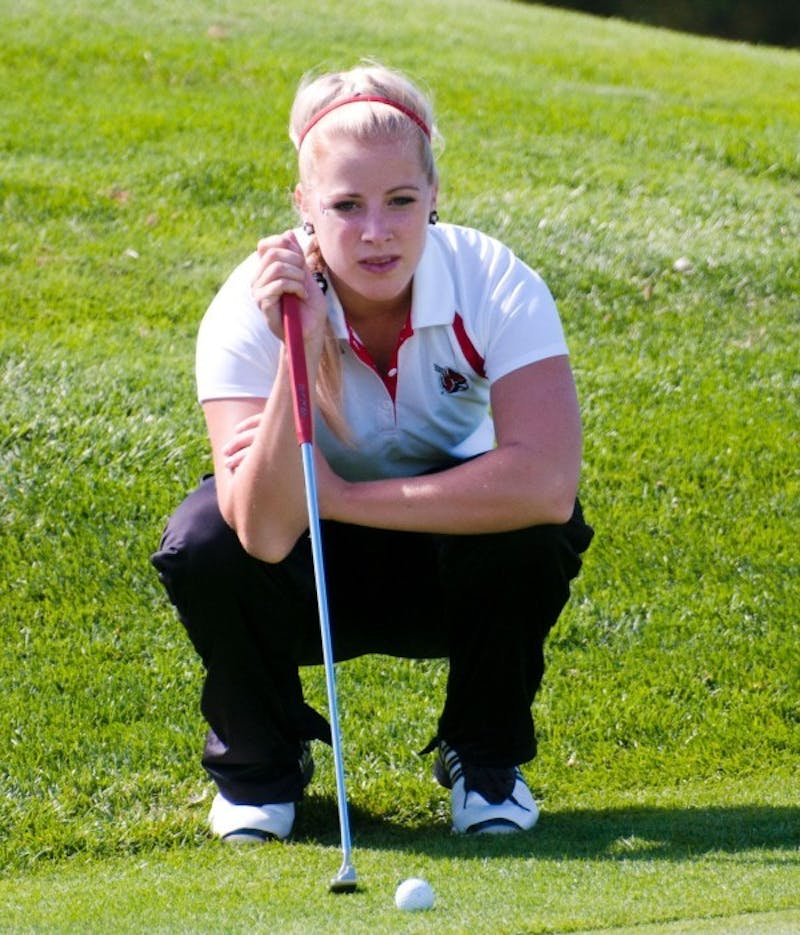 WOMEN'S GOLF: Ball State takes second on home course